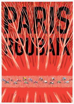 "apisonadora60: "" Paris-Roubaix Arenberg by Rouleur """
