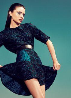 Miranda Kerr for Vogue Turkey Cover August 2012