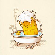 Um mix de cultura pop e boas ideias em 50 ilustrações - por Ben Chen