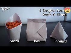 Packaging Snack, Craft Packaging, Food Packaging Design, Paper Packaging, Rice Box, Diy Snacks, Food Carving, Diy Resin Crafts, Paper Crafts Origami