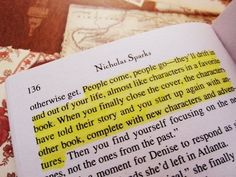 New book quotes nicholas sparks dreams ideas Inspirational Quotes About Change, Change Quotes, Great Quotes, Quotes To Live By, The Lucky One Quotes, A Walk To Remember Quotes, Nicholas Sparks Zitate, Nicholas Sparks Quotes, Words Quotes