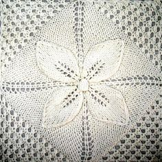 Ravelry: Project Gallery for Counterpane Afghan pattern by Nicky Epstein