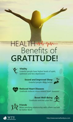 Do you want more happiness? Better health? Deeper relationships? Increased productivity? An Attitude of Gratitude can help you in all of those areas. Find out the Health Benefits of ‪#‎Gratitude‬!
