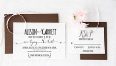 Wedding invitation template  Diy wedding by Invitationstemplates