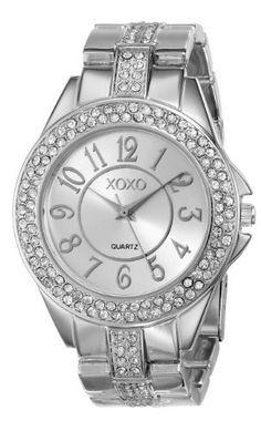 XOXO Women's XO5463 Rhinestone-Accented Silver-Tone Bracelet Watch, http://www.amazon.com/dp/B007X08VII/ref=cm_sw_r_pi_awdm_M1eiwb184ZF45