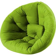 Nido Lime Futon from Fresh Futon #green