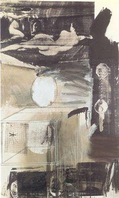 Robert Rauschenberg, Exile, 1962. Oil and silkscreen ink.