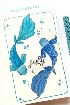 22 Super Fun Blue Bullet Journal Spreads For 2020 - Crazy Laura - - Setting up your bujo theme and need some color scheme ideas? Check out these super cute blue bullet journal spreads for inspriation to make yours perfect! Bullet Journal School, Bullet Journal Cover Ideas, Bullet Journal Month, Bullet Journal Banner, Bullet Journal Notebook, Bullet Journal Spread, Bullet Journal Ideas Pages, Bullet Journal Inspiration, Journal Covers