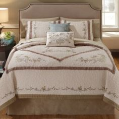 Always Home Jenna Embroidered Quilt Coordinates