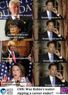 AMAZING!!!!   Pelosi, said we MUST pass Obama (2733 page) Healthcare bill BEFORE we will know what's in it. WHY!!!??? Another idiot! Too many to count. Don't  they hear themselves? But a drink is a BIG deal. How do they stay in office?