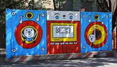 Image result for murals on containers