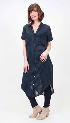 Ellis & Dewey - Ink Shirt Dress