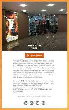 THE salon's About.me page has just been updated. Visit: https://about.me/thesalon