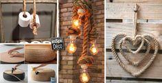 Des créations originales avec de la corde! Voici 20 idées pour vous inspirer…