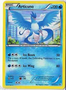 Pokemon Card Legendary Treasures Rare Holo Articuno 32/113 FREE COMB S&H