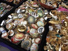 Portobello Road Market  http://glitterandpearls.com/wp-content/uploads/2013/07/London-Portobello-Market-jewelry-vintage-_-glitterinc.com_.jpg