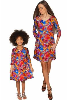 baby blue stretchy lace beautiful spring empire mommy and me dress