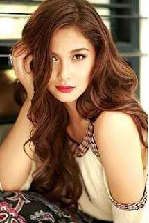 Filipina dancer, model and actress, Maja Salvador. Cute Hair Colors, Cool Hair Color, Hair Colour, Cute Hairstyles, Wedding Hairstyles, Medium Hair Styles, Short Hair Styles, Maja Salvador, Asian Hair