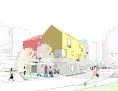 Image 1 of 16 from gallery of Daniel Valle Architects Unveils Winning Kindergarten Design for Seoul. Courtesy of Daniel Valle Architects