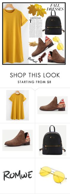 """""""Romwe 1./3"""" by b-necka ❤ liked on Polyvore featuring LAQA & Co. and romwe"""