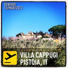 Hotel Villa Cappugi Pistoia Marzo 2014 | @giamma72