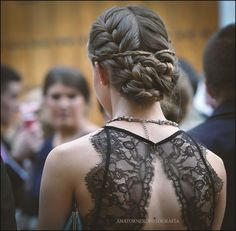 peinado trenzas invitada boda