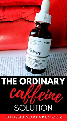 The Ordinary Caffeine Solution 5% + EGCG for dark, puffy eyes. Want to de-puff your eyes with a lightweight serum that's cruelty free, super cheap and vegan? Try this eye serum from the Ordinary skin care, my secret skin care hack for brighter, less puffy eyes in seconds! #theordinary #skincareroutine | the ordinary skincare guide | drugstore eye serum best | The Ordinary Skincare Guide, The Ordinary Serum, Drugstore Skincare, Best Skincare Products, Beauty Products, The Ordinary Caffeine Solution Review, Good Sunscreen For Face, Puffy Eyes, Eye Serum