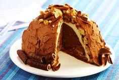 Torta gelada de Natal (Zuccotto): uma ótima receita para aproveitar as sobras de panetone