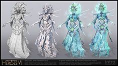 MIGHT AND MAGIC HEROES 6 CHARACTERS on Behance