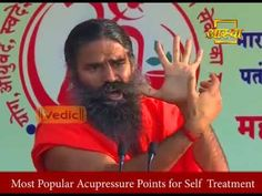 Acupressure is the practice of applying precise pressure, usually with fingertips, to various points on the body with the goal of balancing life energy. Arm Workout Women No Equipment, Baba Ramdev Yoga, Patanjali Yoga, Self Treatment, Acupressure Points, Fit Women, Youtube, Fit Females, Youtubers