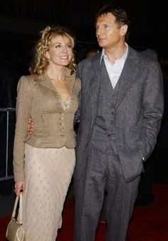 Liam neeson and natasha richardson on their wedding day for Natasha richardson liam neeson wedding