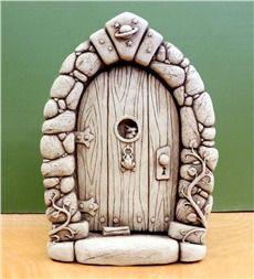 Stone Fairy Door by Carruth Studio