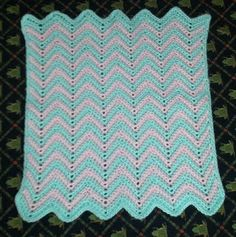 Peanutzmom's Pattern Place: Baby Ripple Afghan