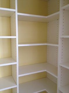 Diy Pantry Corner Shelving | Pantry Shelves