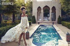 Yara Shahidi, Essence Magazine, April 2018 Issue Grown Ish, Rock My Style, Essence Magazine, Black Models, Style Icons, Editorial Fashion, Floral Prints, Hollywood, Actresses