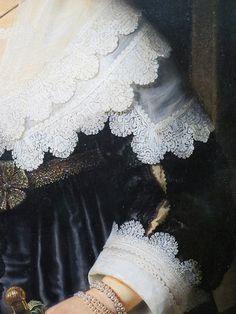 Portrait of a Woman, Possibly Maria Trip, Rembrandt van Rijn, 1639 - Rijksmuseum Illustration Mode, Portrait Illustration, Rembrandt Paintings, Rembrandt Portrait, Dutch Golden Age, Detail Art, Renaissance Art, Female Portrait, Woman Portrait