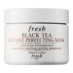 Expensive but supposedly amazing Black Tea Instant Perfecting Mask http://www.sephora.com/black-tea-instant-perfecting-mask-P217513?om_mmc=aff-linkshare-redirect-TnL5HPStwNw