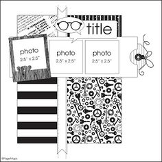 be more creative: Pagemaps by Becky Fleck {Guest Design}