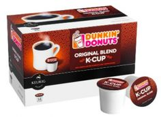 Dunkin' Donuts K-Cups Coupon – Save $2.00