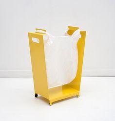 Dokter & Misses Checkas Bins Metal Furniture, Industrial Furniture, Home Furniture, Furniture Design, Metal Sheet Design, Sheet Metal, Metal Bins, Minimal House Design, Storage Mirror