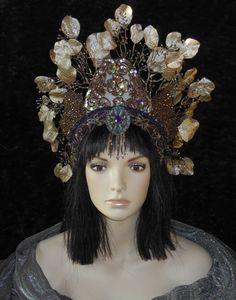 Fantasy Fall Fairy Princess Queen Art Nouveau by MIMSYCROWNS Fantasy 0b4128b3cc