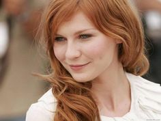 Kirsten Dunst #Ginger #Redhead