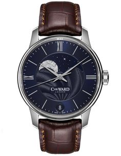"Christopher Ward C9 Moonphase Watch - by Rob Nudds - see all about it, the other versions, & our analysis on aBlogtoWatch.com""Sure, we have all seen a moonphase before, but it is not the kind of complication one would necessarily expect from English watchmakers Christopher Ward – especially not something this jewelery-esque. Christopher Ward has made a name for himself producing honorific homages to many of the watch industry's best-loved brands and their best-selling models..."""