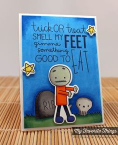 Trick or Treat stamp set and Die-namics - Amy Rysavy #mftstamps