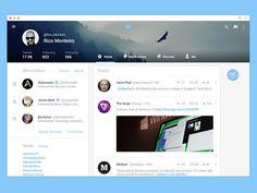 Twitter for Web - Material Design