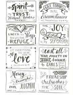 DIY Country Bathroom Decor Ideas Perhaps you think of home improvement work and think that such projects are beyond your capabilities. Rest assured that there are many easy projects that even a novice can master. Scripture Cards, Printable Scripture, Encouragement Scripture, Scripture Treats, Free Printable Quotes, Tampons, Planner, Bible Art, Christian Faith