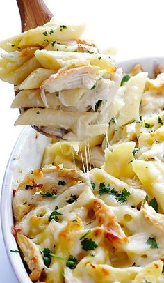 Chicken Alfredo Baked Ziti. A velvety, rich alfredo sauce that will send your senses into orbit:) (scheduled via http://www.tailwindapp.com?utm_source=pinterest&utm_medium=twpin&utm_content=post896875&utm_campaign=scheduler_attribution)