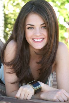 Lucy Hale - lucy-hale Photo. Cute hair cut for O