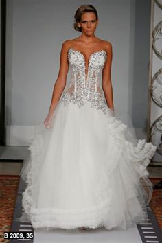 Designer wedding gowns pnina tornai