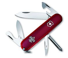 Victorinox Swiss Army Tinker Pocket Knife Red Boy Scouts of America * More info could be found at the image url.Note:It is affiliate link to Amazon.